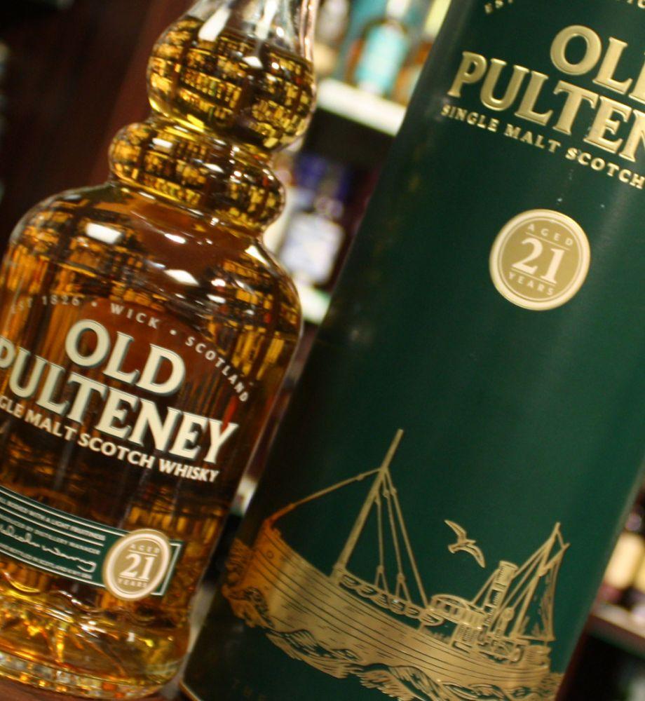 Old Pulteney 21 años