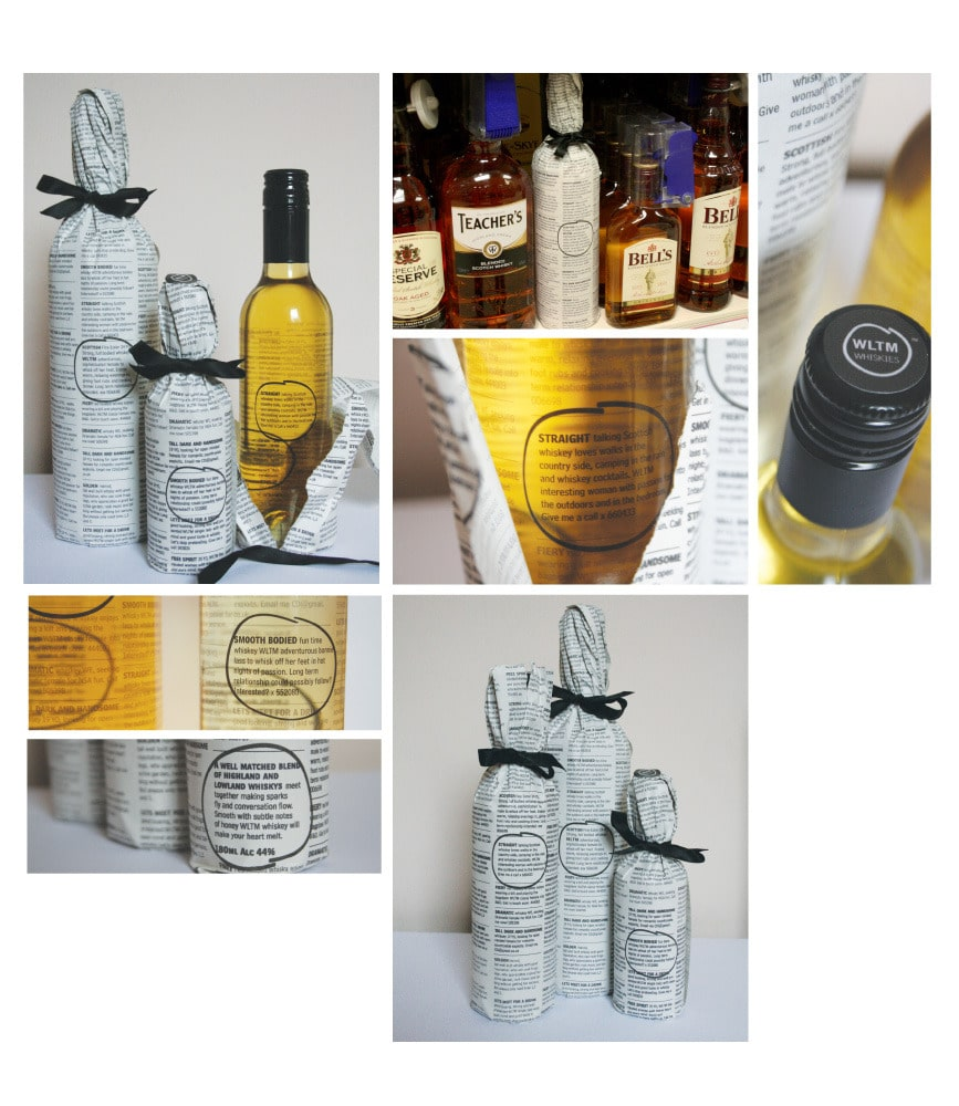 Una botella de whisky destinada a las mujeres