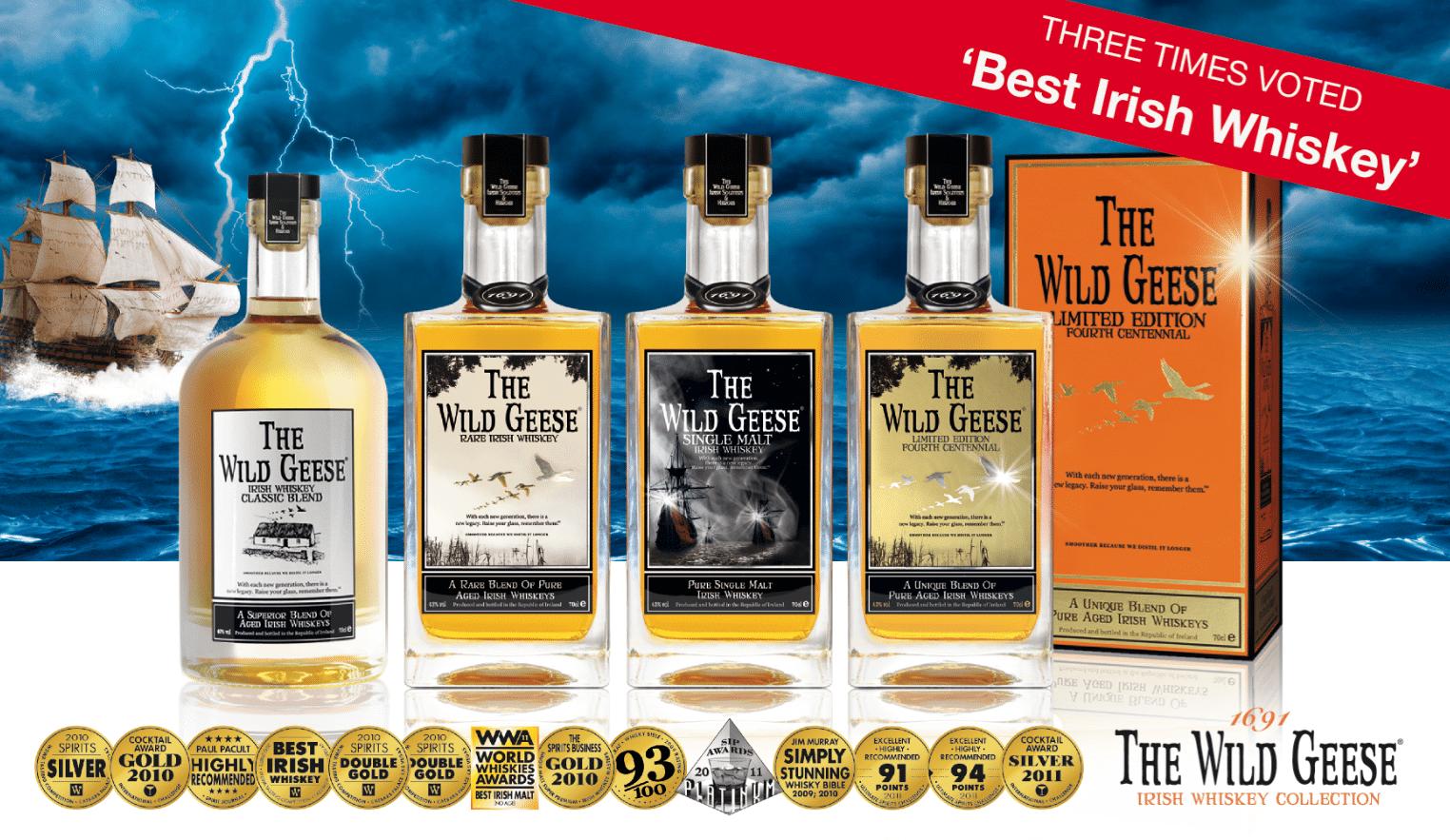 La colección de whisky de los gansos salvajes