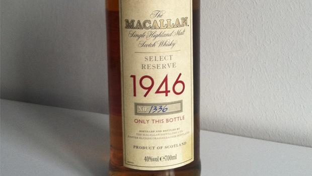 Un lector pone a la venta The Macallan de 1946
