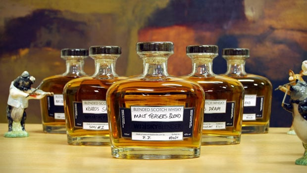Crea tu propio whisky en Internet