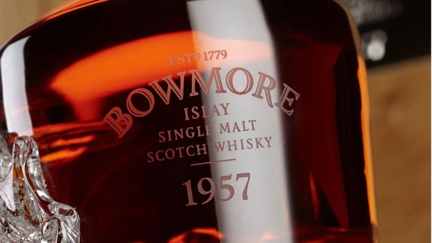Bowmore no consigue vender su primera botella de 1957