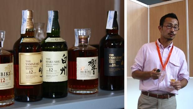 Sabor e historia de Suntory con Tatsuya Minagawa