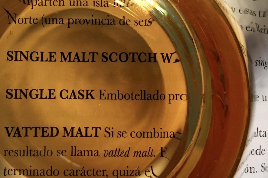Vocabulario básico para el amante del whisky