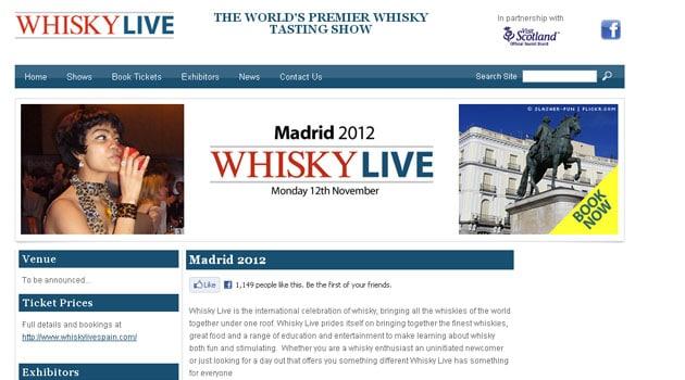 Whisky Live Madrid 2012, ¿suspendido?