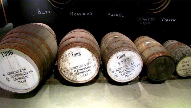 Tamaño de los barriles de whisky