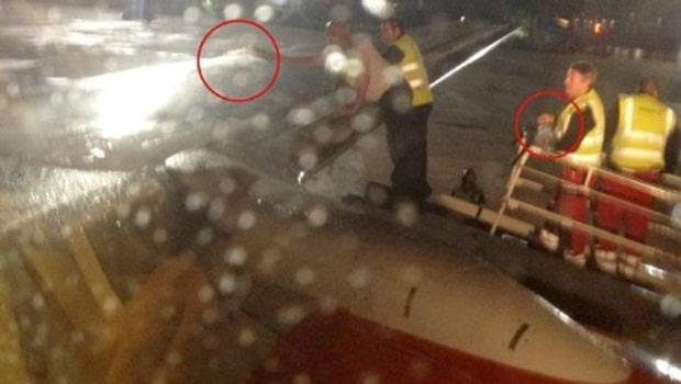 Un avión consigue despegar gracias al whisky