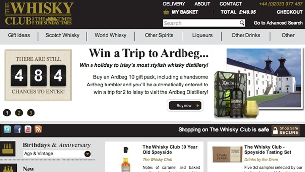The Times lanza The Times Whisky Club