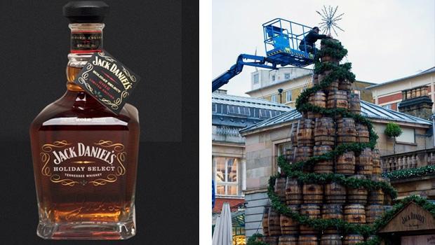 El árbol de navidad de Jack Daniel's