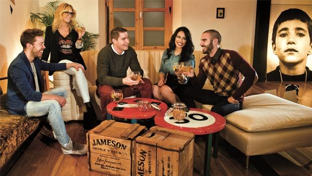 La casa de Jameson en Madrid