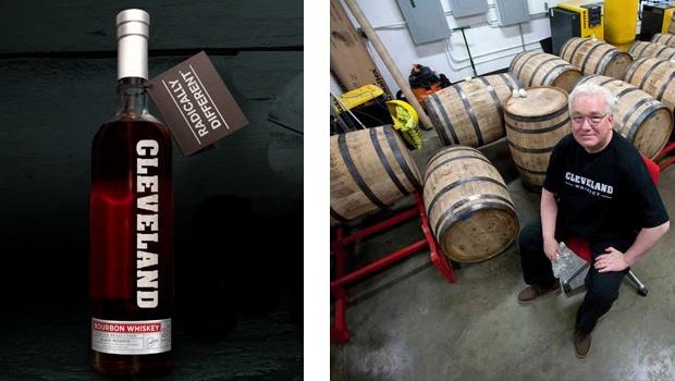 Cleveland Whisky, el bourbon que envejece en una semana