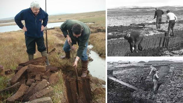 Polémica por la extracción de turba en Islay