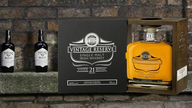 Silver Reserve, el nuevo vintage de Teeling Whiskey