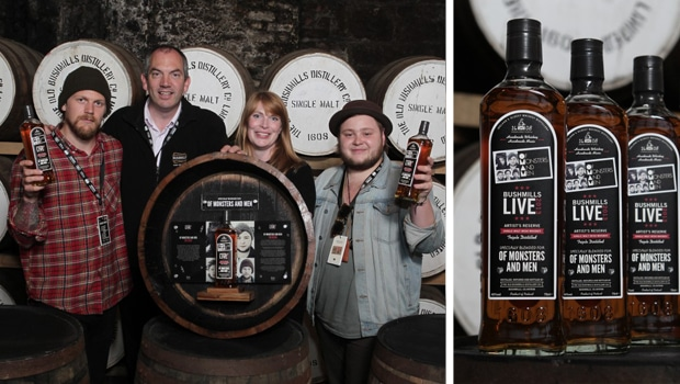 Of Monsters and Men crean un blend junto a Bushmills