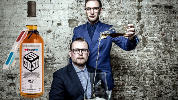Caskstrength Creative y Diageo lanzan el whisky 3D