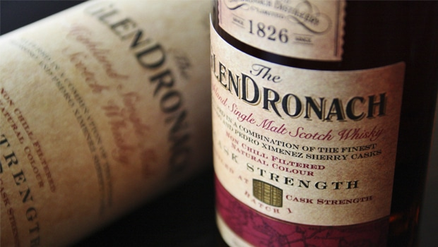 Tercer lote del GlenDronach Cask Strength