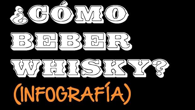 Infografía: ¿Cómo beber whisky?