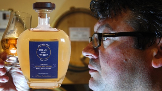Dominic Roskrow lanza su propia gama de whiskies