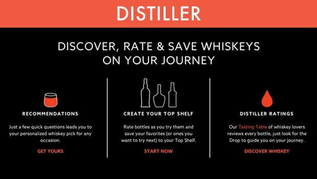 Distiller: escoger el mejor whisky para cada momento