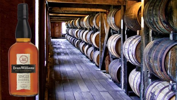 Nuevo lanzamiento: Evan Williams Single Barrel Vintage Bourbon 2004