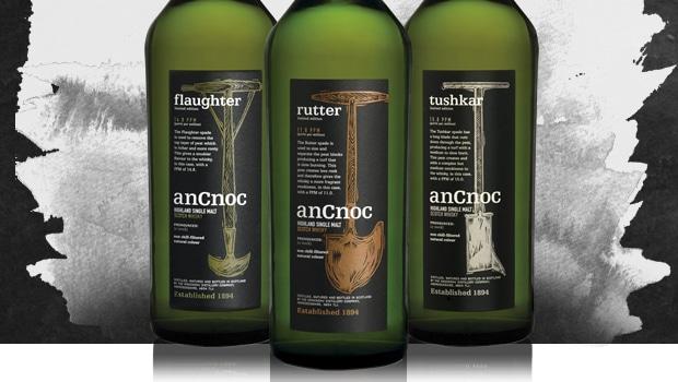 anCnoc lanza su primera serie de whiskies ahumados
