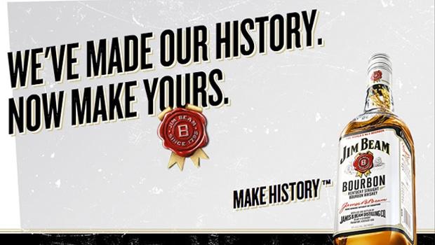 13 millones de barriles de bourbon. Jim Beam hace historia.