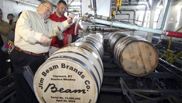jim beam makes history