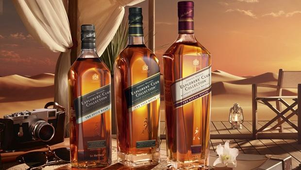 Johnnie Walker Explorer's Club llega al Whisky Festival de World Duty Free