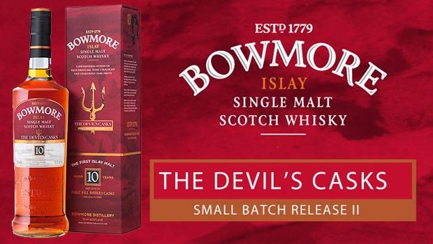 Bowmore lanza una nueva tanda de su Devil's Cask