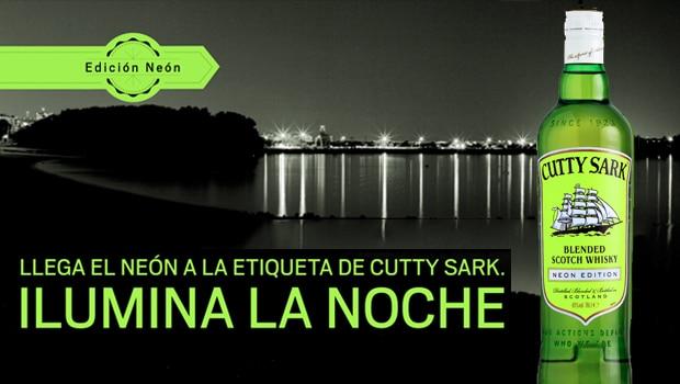 Nueva edición limitada Cutty Sark Neón
