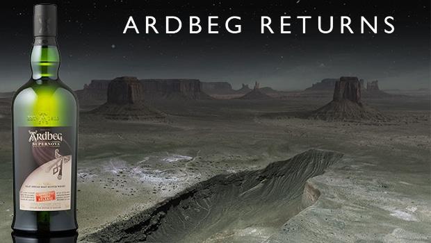 Ardbeg Supernova 2014 marca el final del experimento espacial de Ardbeg