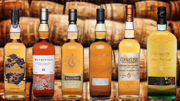 Diageo desvela una colección de rare single malts escoceses