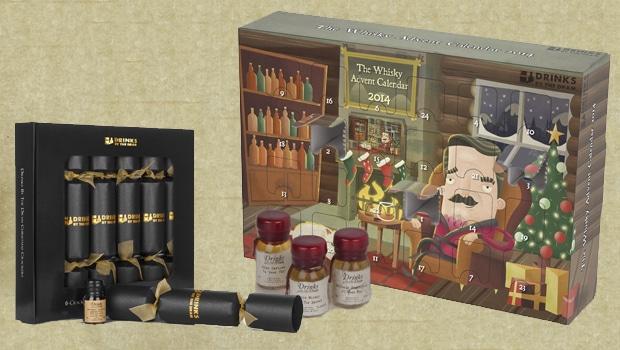 Whisky Advent Calendar y Xmas Crackers de Drinks by the Dram