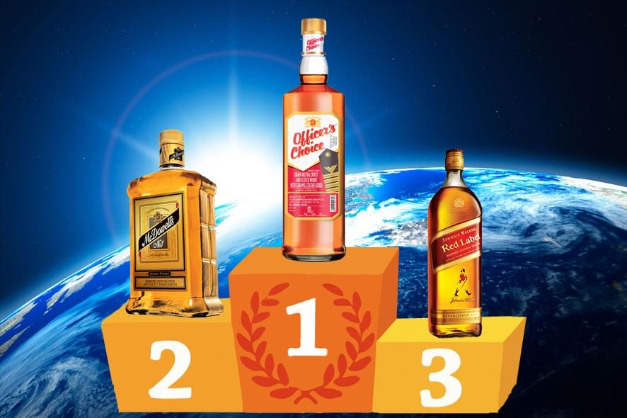 Los 30 whiskies más vendidos del mundo en 2013