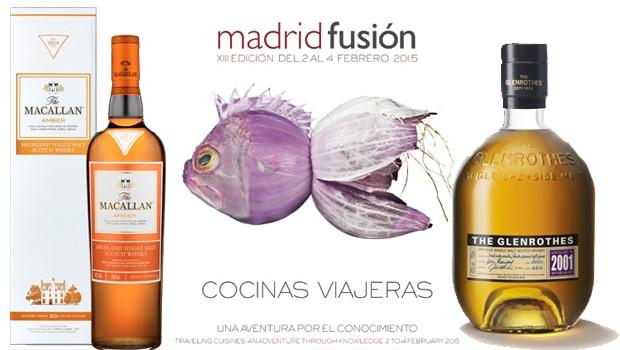 The Glenrothes y The Macallan en Madrid Fusión