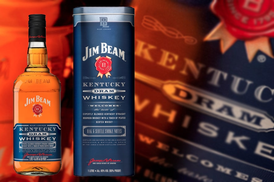 Jim Beam Kentucky Dram, el bourbon con toque escocés
