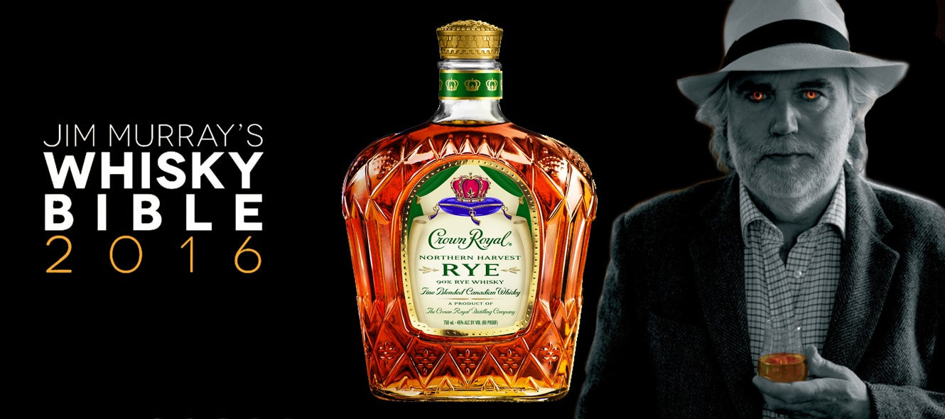 Crown Royal Northern Harvest Rye, el mejor whisky del mundo según Jim Murray