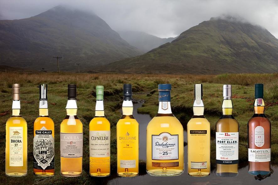 Diageo lanza la colección de rare malts escoceses de 2015
