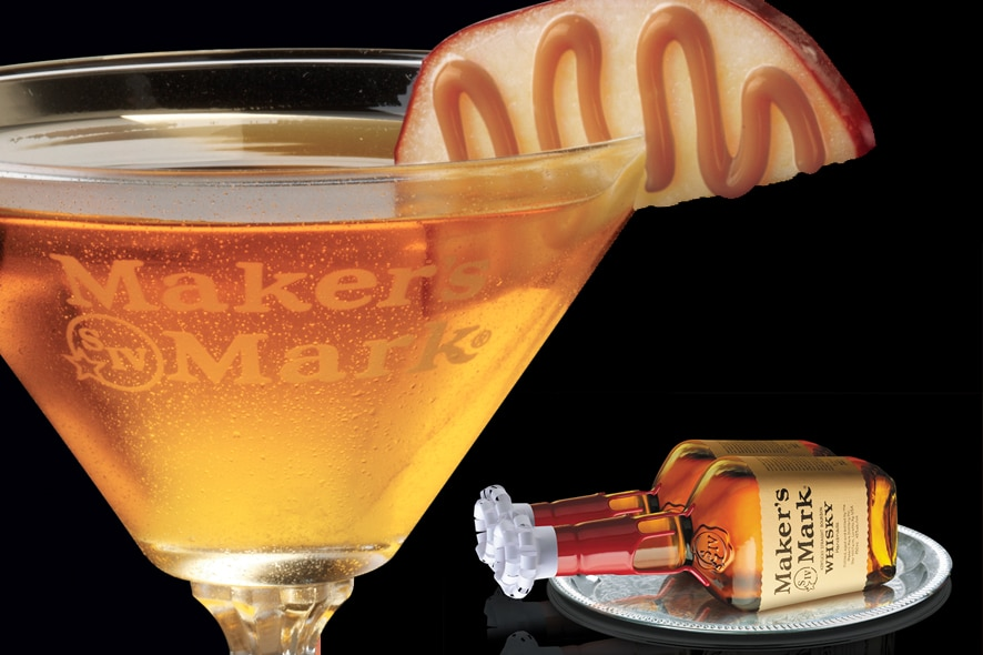 Cóctel: Spirited Apple by Maker's Mark