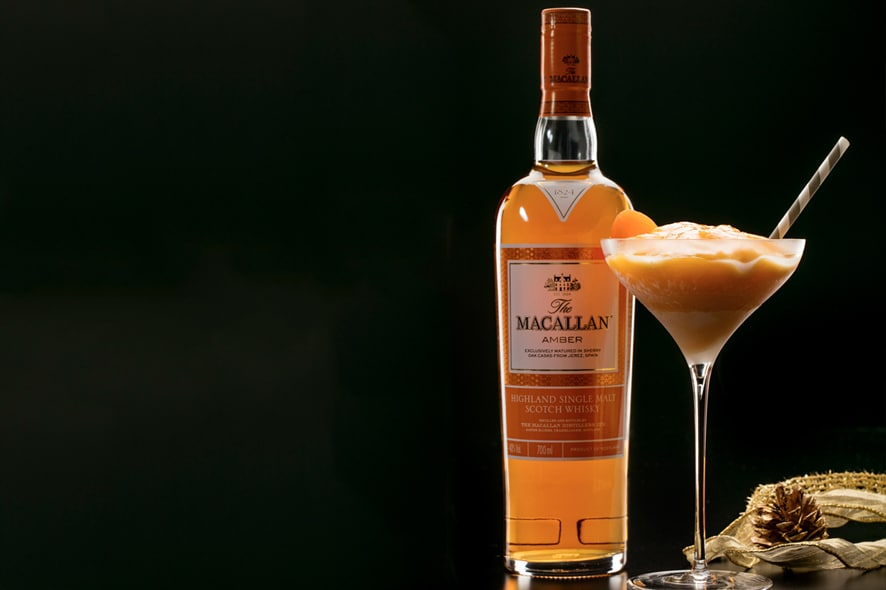 Cóctel: Christmas Frozen by The Macallan