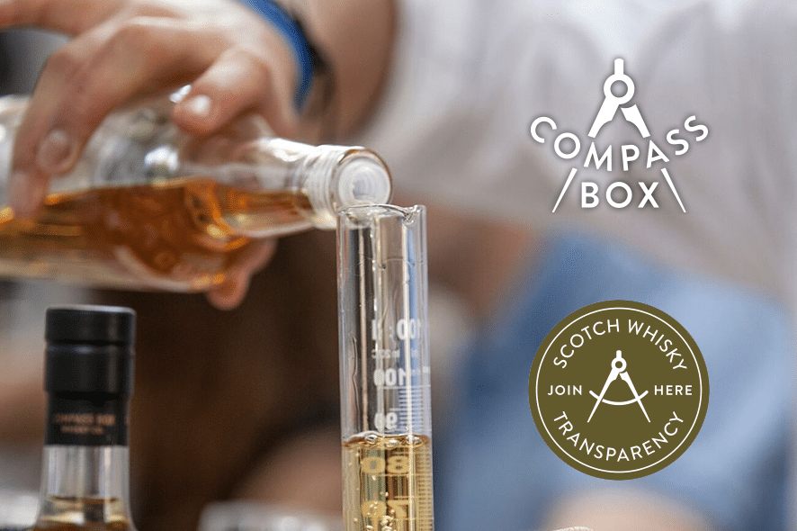 Compass Box: por la transparencia en el whisky escocés