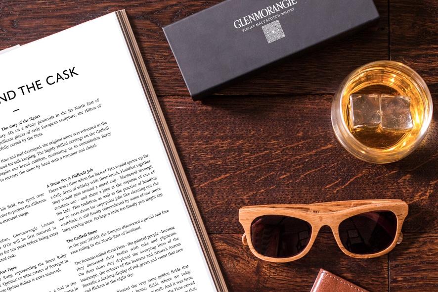 Las gafas de Glenmorangie
