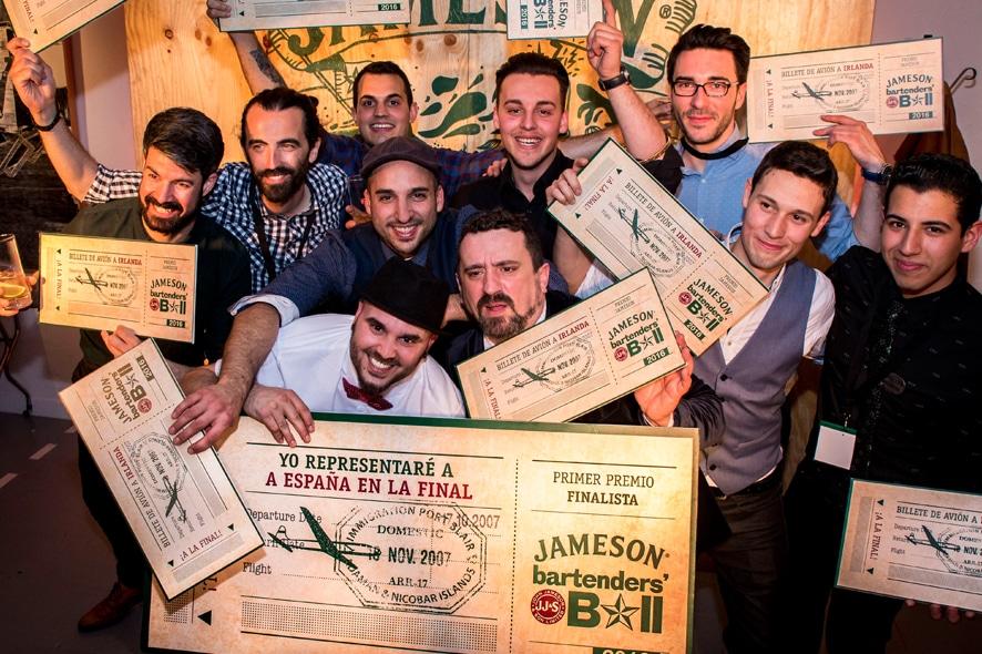 Borja Mauriz, bartender ganador del Jameson Bartenders Ball