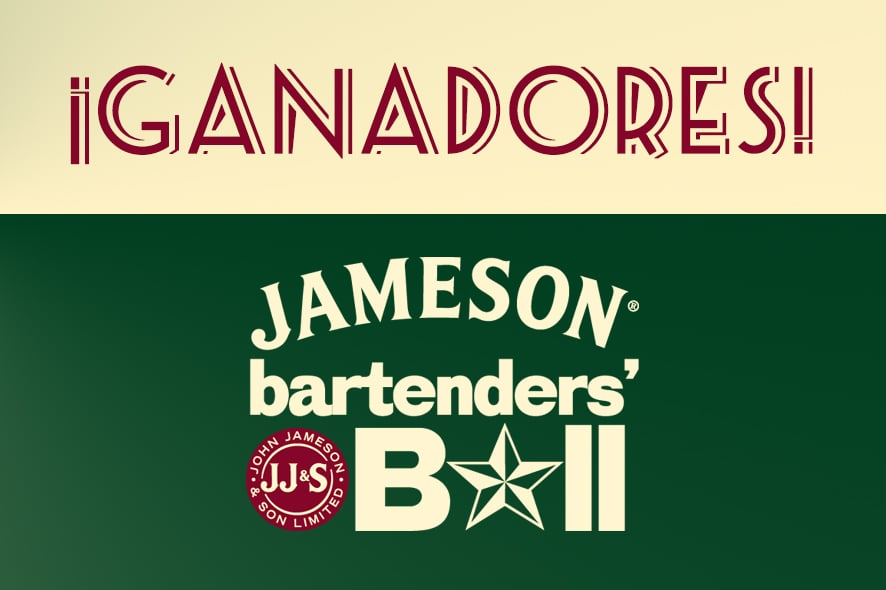 Jameson Bartenders Ball: ¡tenemos ganadores!
