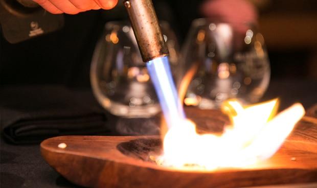 cocteles con fuego
