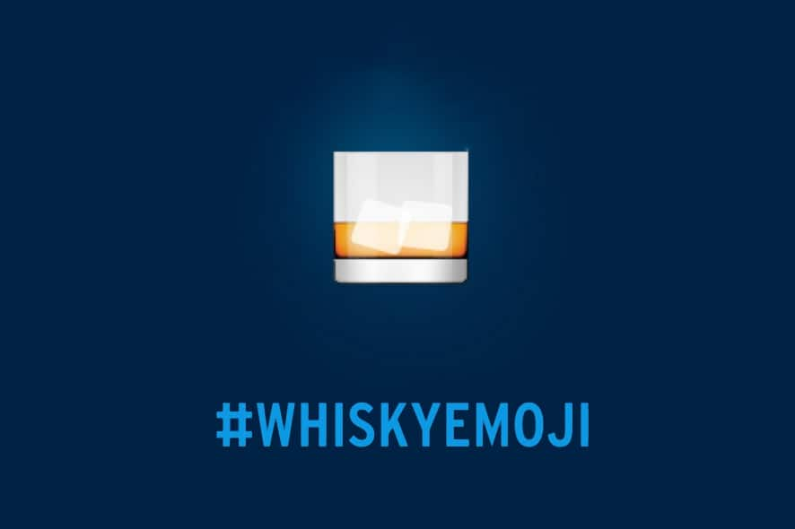 ¡Hola 👋🏻 Whisky emoji!