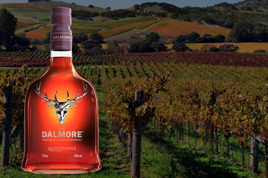 Dalmore Quintessence, un single malt de 5 vinos