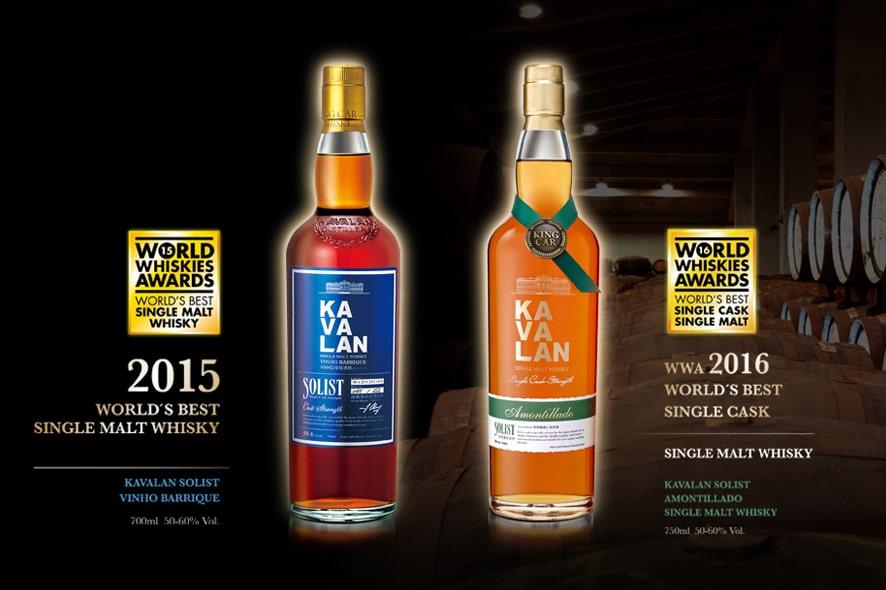 Kavalan, mejor Single Cask en los World Whiskies Awards 2016