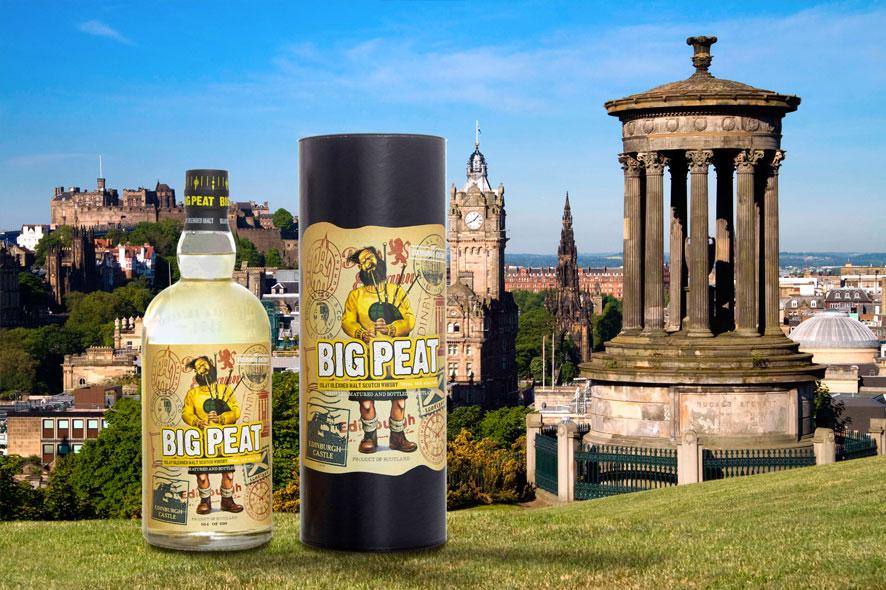 Douglas Laing anuncia el lanzamiento de Big Peat's Edinburgh Edition