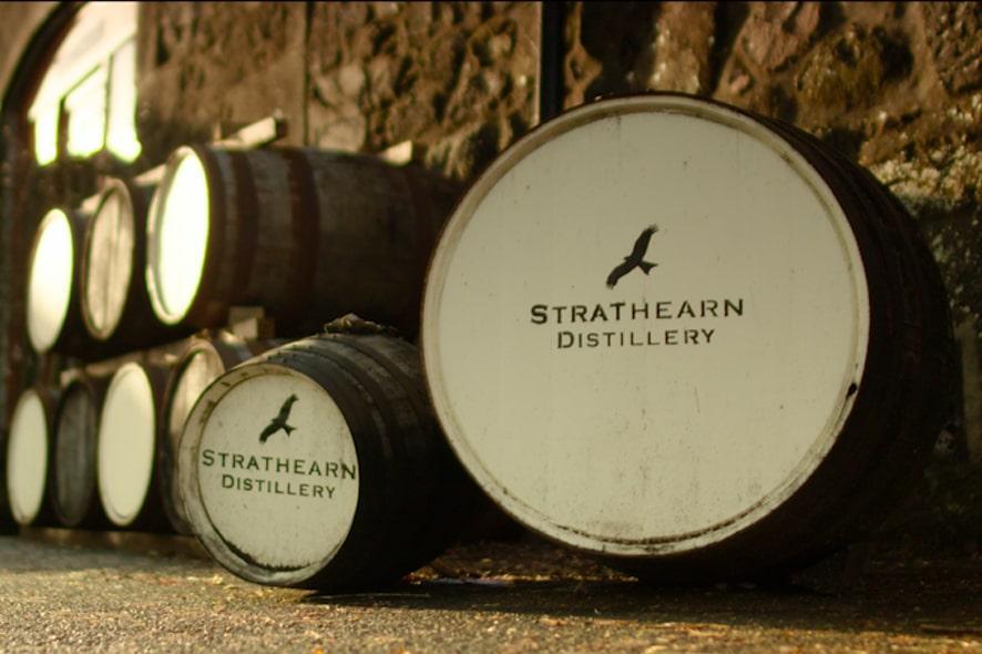 Las primeras 100 botellas de Strathearn